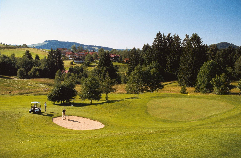 Golfclub oberstaufen steibis e v golf fee card for Oberstaufen golf